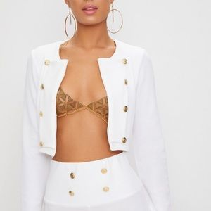 Pretty Little Thing US Size 18 Cropped jacket